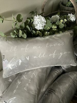All Of Me Loves All Of You Cushion • 15£