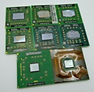 £14.99 • Buy AMD Mobile CPU's - Athlon, Sempron, Turion 64 X2 & More, Tested & Working.