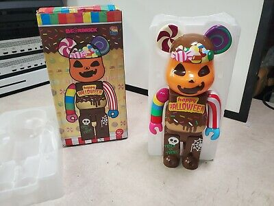 $130 • Buy Medicom Toy Bearbrick 2017 HALLOWEEN BE@RBRICK 400% Figure Open Box