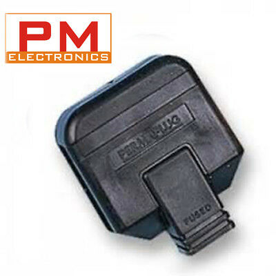 Heavy Duty 3 Pin UK Mains Plug/Perma Plug 13A 13Amp Fuse In Various Pack • 3.45£