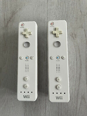 $ CDN52.45 • Buy 2x Genuine Nintendo Wii Remote Controllers Official Original Tested & Working