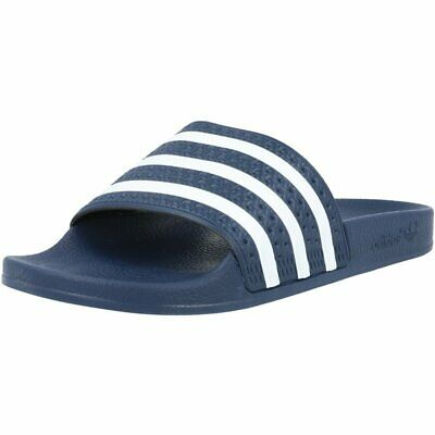 AU69 • Buy Adidas Adilette Adi Blue Rubber Adult Slides Sandals