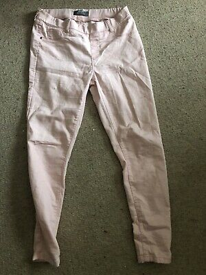 Dorothy Perkins Womans Pink Jeggings/jeans Size 10 • 1.20£