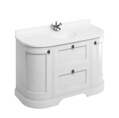 £2100 • Buy Burlington Freestanding Vanity Unit With Drawers With Minerva Top. Boxed