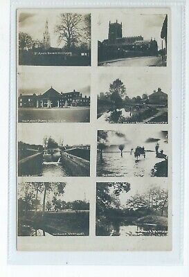 Real Photo Multiview Postcard Of Whittlesea Cambridgeshire In Good Condition • 7£