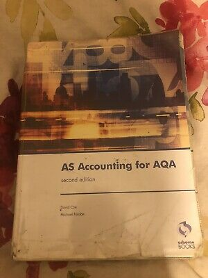 £9 • Buy AS Accounting For AQA Second Edition Book