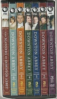 Downton Abbey Seasons 1 Thru 6  With Manner   LM17  • 39.01£