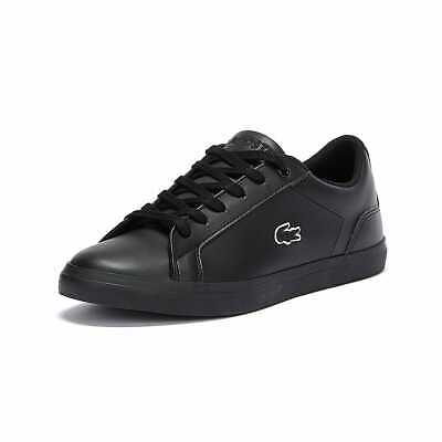 Lacoste Lerond BL 21 1 Junior Black Trainers Sneakers Running Sports Shoes • 44£