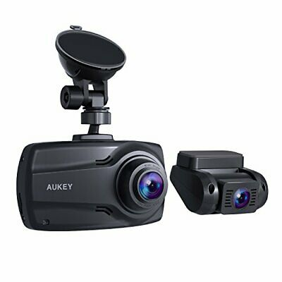 "AU184.94 • Buy AUKEY 1080P Dual Dash Cams With 2.7"" Screen Full HD Front And Rear Camera 6-L..."