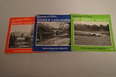 3 Books Getting To Know Secret Lancashire,hidden Lancashire,the Ribble Valley • 5.99£