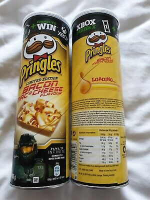 2 X Pringles Bacon, Mac & Cheese 165g Limited Edition - X BOX PASS-FREE UK P&P  • 9.50£