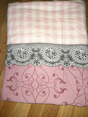 **teenage Girls Single Bedding Set Duvet Cover & Pillowcase Ikea 100% Cotton** • 3.50£