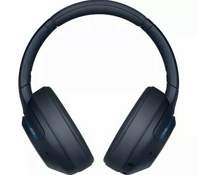 SONY EXTRA BASS WH-XB900N Wireless Bluetooth Noise-Cancelling Headphones - Blue • 59.99£