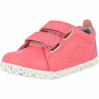 Bobux I-Walk Grass Court Switch Guava Coated Leather Infant Shoes • 44.68£