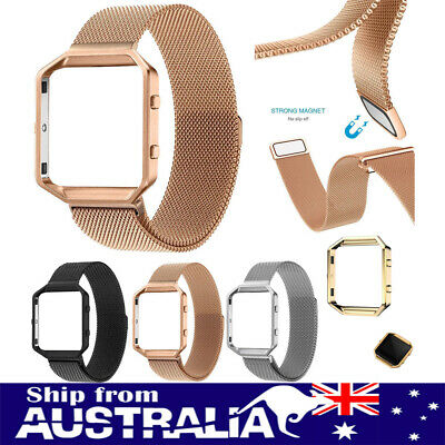 AU11.99 • Buy Replacement Milanese Stainless Steel Watch Band Wrist Strap For Fitbit Blaze Xi