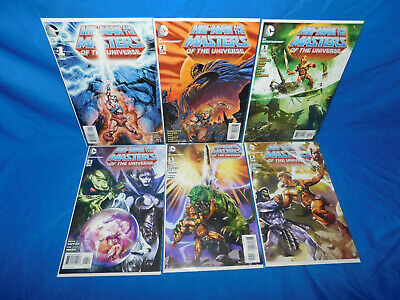 $19.99 • Buy He-Man And The Masters Of The Universe 1-6 DC 2012 Complete Set  1 2 3 4 5 6