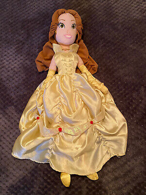 Disney Store Princess Belle (Beauty & The Beast) Exclusive Soft Toy, Plush Doll • 14.99£
