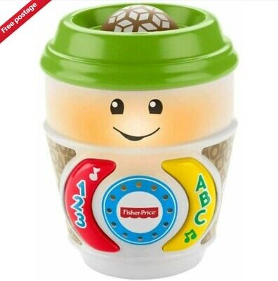 £8.68 • Buy Fisher-Price GHJ04 Laugh & Learn On-The-Glow Coffee Cup Interactive Baby Toy