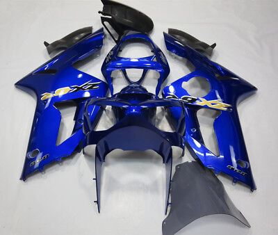 $517.75 • Buy Blue Fairing Kit For KAWASAKI Ninja ZX-6R 2003 2004 ZX636 ABS Injection Bodywork
