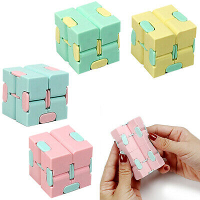 £3.59 • Buy Sensory Infinity Cube Stress Fidget Toys Autism Anxiety Relief Kids Adults Gift