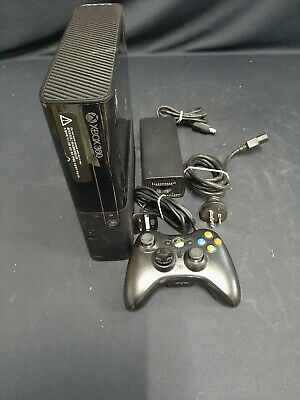 AU26 • Buy Microsoft Xbox 360 E Black Console, 1 Controller, No HDD. Good Working Condition