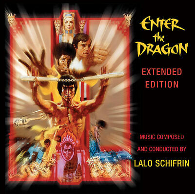 Enter The Dragon Original Movie Soundtrack Extended Edition By Lalo Schifrin CD • 14.22£