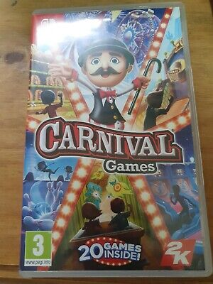 Carnival Games Nintendo Switch Game • 18£