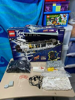 LEGO 8480 TECHNIC SPACE SHUTTLE RARE VINTAGE BOX & INSTRUCTIONS & New Stickers • 225£