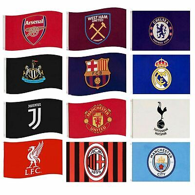 £7.99 • Buy Football Flags - Various Teams & Designs - Official Merchandise - Free Postage