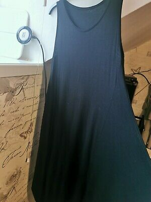 BNWOT Black Lagenlook Dress One Size Fits All Up To 18/20. Beautiful!  • 2.20£
