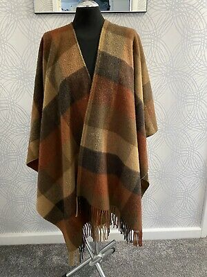Kemp Blair Of Scotland Beautiful 100% Lambswool Wrap Shawl Vgc Vtg • 4.99£