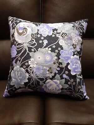 £9.99 • Buy 16 X 16  Cushion Cover. Oriental Floral.