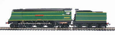 Hornby R2315 West Country Class 34037  Clovelly  In BR Green NEAR MINT BOXED • 139.99£