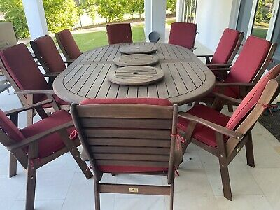 AU1800 • Buy Montreal 13-Piece Outdoor Oval Dining Setting