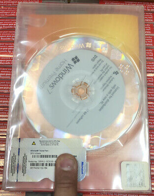Microsoft Windows 7 Home Premium 32 Bit Full Version DVD With Product Key • 20.78£