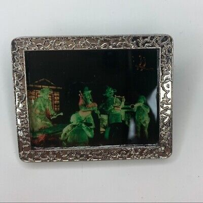 $ CDN107.83 • Buy Disney WDI Haunted Mansion Ghost Band Silver Tone Frame PIn LE 300