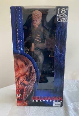 2004 Neca Hellraiser CHATTERER 18  Motion Activated Figure In Box • 116.23£