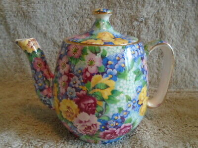 $ CDN299 • Buy Royal Winton Grimwades Julia Chintz Breakfast Set One Cup Teapot