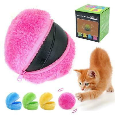 Roller Ball Automatic Dog Cat Toys Robotic Microfiber Mop Toy Ball Sw O6S4 I8B4 • 6.59£