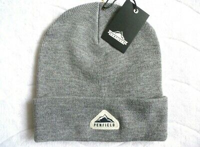 £19.99 • Buy Penfield Classic Tag Beanie Os Unisex Sold Out Grey