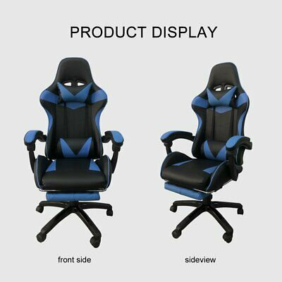 AU80.98 • Buy Gaming Office Chair Executive Computer Chairs Seating Footrest Racer Recliner