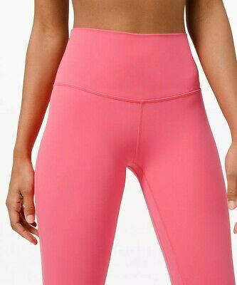 $ CDN180 • Buy Lululemon Align Women's Size 4 PANT II 25  Guava Pink Leggings NEW With Tags 2 6