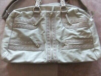 AU19.99 • Buy Forever New Large Tote Bag Neutral Pink Gold Travel Overnight Hospital Baby Ecec