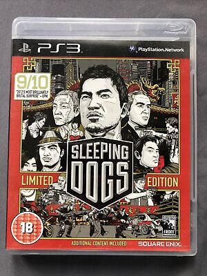 £3.99 • Buy Sleeping Dogs -- Limited Edition (Sony PlayStation 3, 2012)