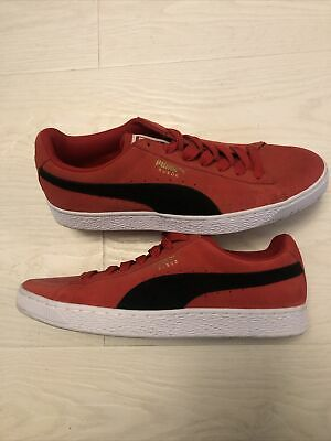 AU13.35 • Buy ** Wore Once - Puma Suede Trainers ** UK 9, US 10, EUR 43