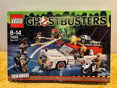 Lego Ghostbusters 75828 Ecto-1 & 2 2016 Movie BNIB NEW SEALED COMPLETE • 40£