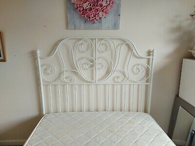 Ikea Double Bed Frame With Mattress • 70£