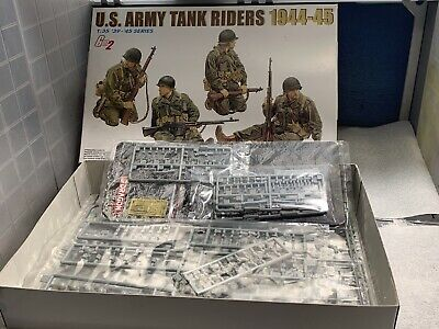 1/35 Dragon U.S. Army Tank Riders 1:35 Scale Model Kit Figures. • 12.01£