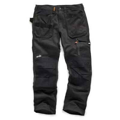 Scruffs Work Trousers 3d Trade Graphite With Cordura Fabric & Knee Pad Pockets • 33.50£