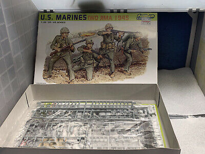 1/35 Dragon Premier Edition US Marines Iwo Jima • 5.99£